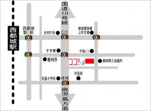 都城事務所周辺地図